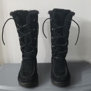 UGG Tall Lace Up Boots